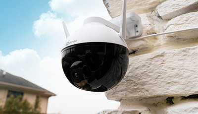 EZVIZ unveils the C8C, its first-ever outdoor pan & tilt Wi-Fi camera, taking a step forward in all-around home protection