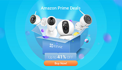 EZVIZ Announces 2020 Prime Day Deals on the Most Desired Security Cameras