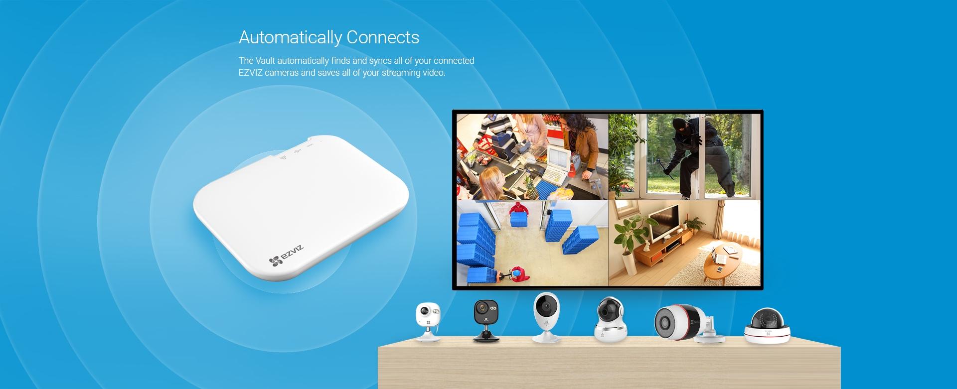 Ezviz X3 Smart video recorder - Excel Technologies Ltd