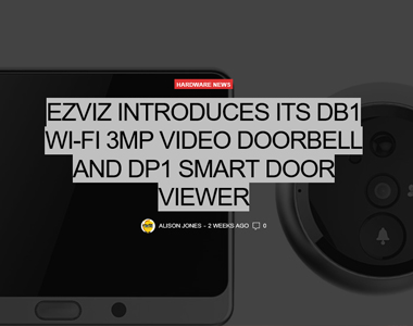 New Introductions from EZVIZ