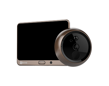 EZVIZ Lookout Smart Door Viewer Turns Your Front Entrance Into a Connected and Protected Smart Door