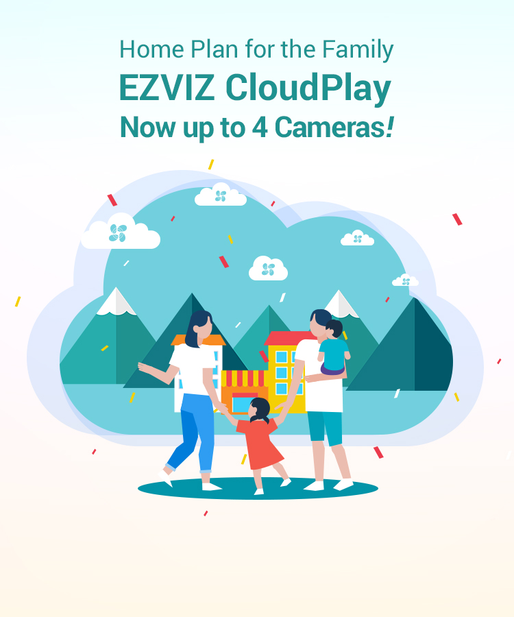 EZVIZ CloudPlay – New