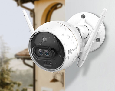 The color night vision capable EZVIZ C3X Security Camera is now available