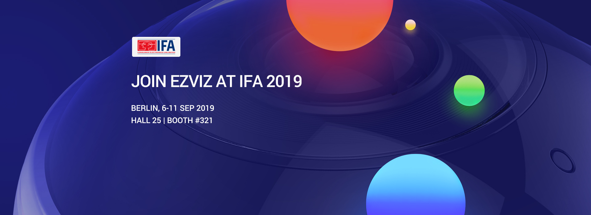EZVIZ at IFA 2019