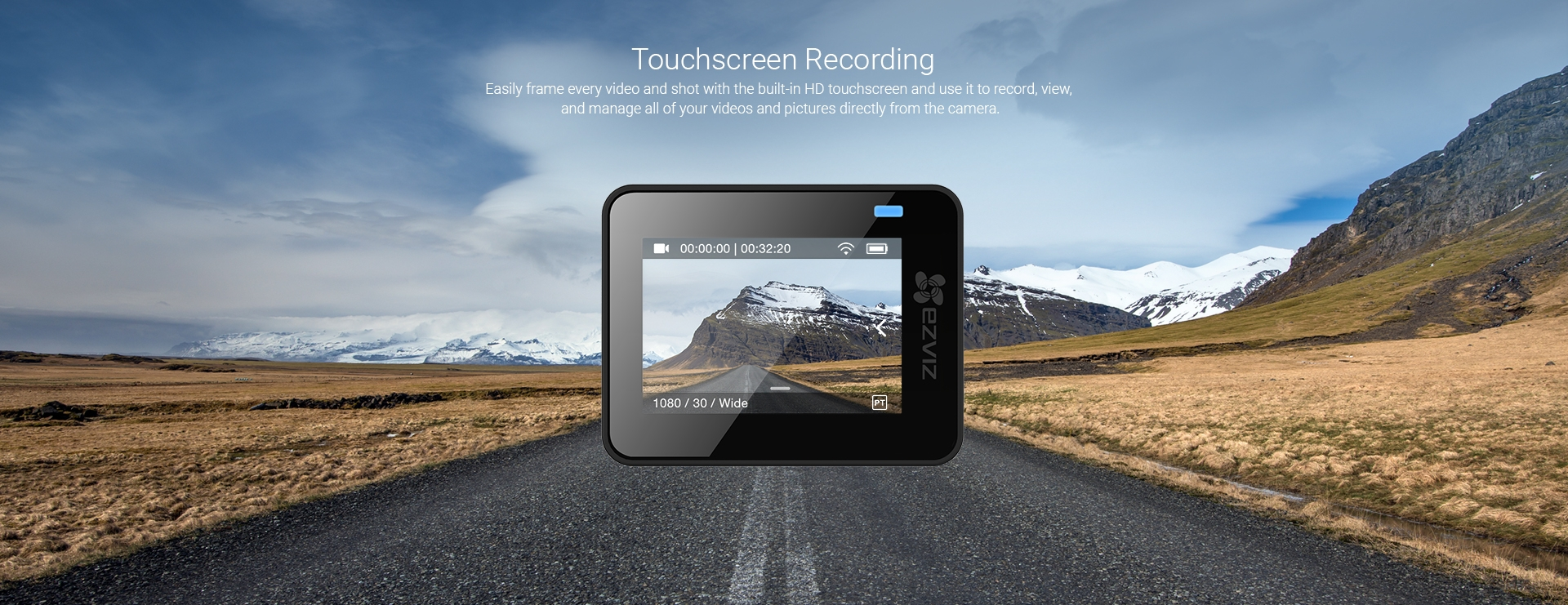 Touchscreen Recording