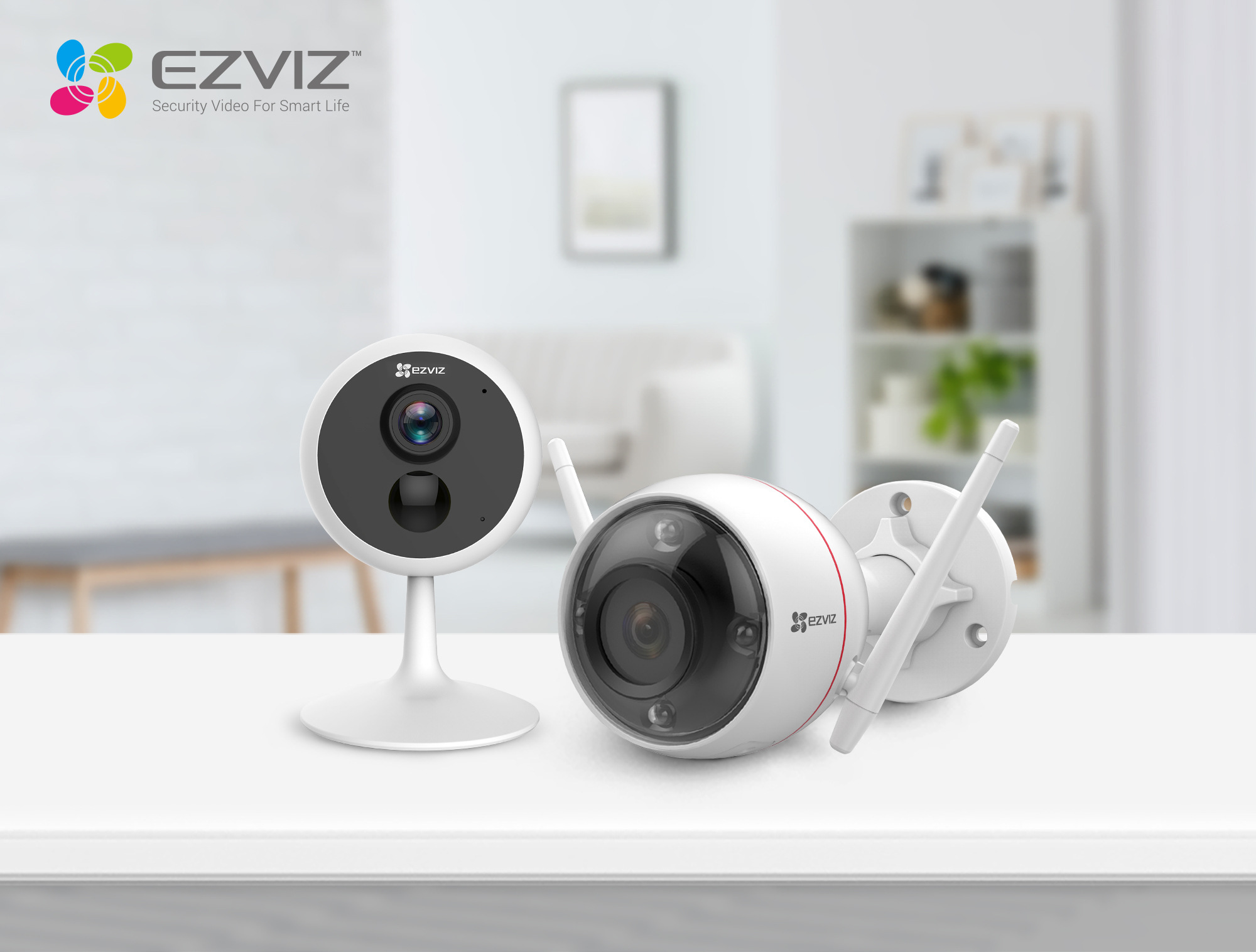 EZVIZ Showcases its First Color Night Vision Security Camera at IFA 2019  to Bring 24*7 Color Images