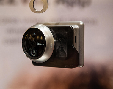 EZVIZ's Front Door Camera Recognizes Faces and Sends Alerts